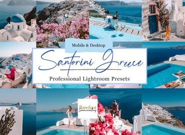 Santorini Blue Lightroom Presets