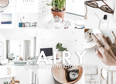 5 AIRY Mobile Lightroom Presets