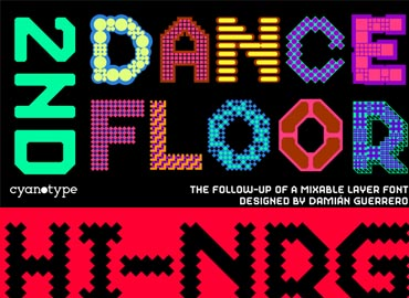 2nd Dance Floor Font Family