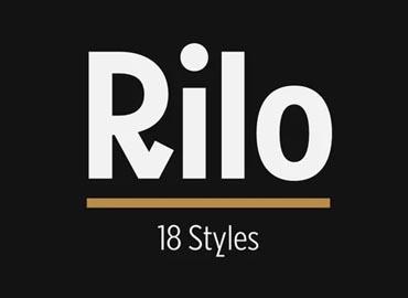 Rilo Font Family
