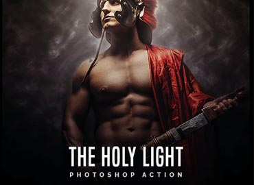 The Holy Light – Premium Photoshop Action