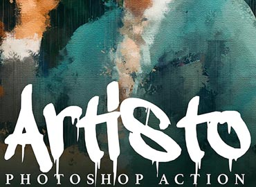 Artisto - Realistic Painting Photoshop Action