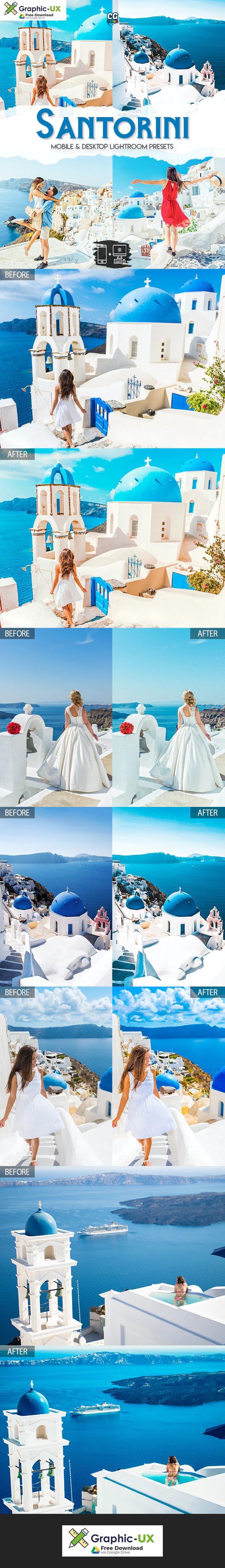 Santorini - 15 Premium Lightroom Presets