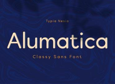 Alumatica Font