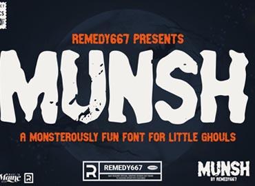 Munsh Font