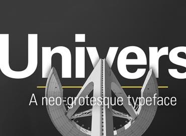 Univers Fonts
