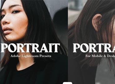 10 PORTRAIT MOBILE LIGHTROOM PRESETS