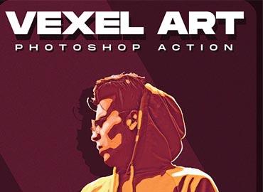 Vexel Art Photoshop Action