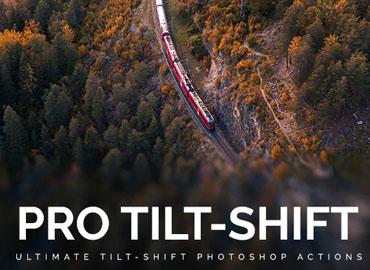 Professional Tilt-Shift Photoshop Actions