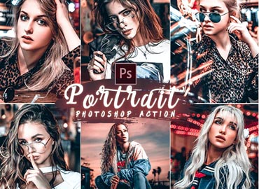 PRO Portrait Photoshop Action