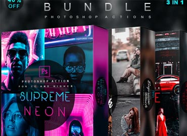 Supreme Bundle - Photoshop Actions