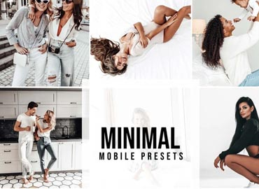 4 Lightroom Presets MINIMAL