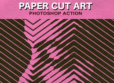 Paper Cut Art Photoshop Action