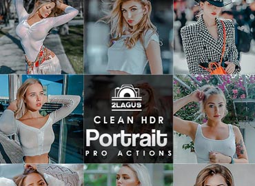 Clean Portrait Photoshop Actions