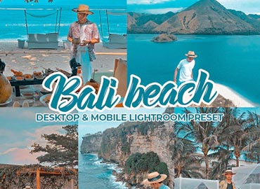 Bali Beach Lightroom Preset Dekstop & Mobile
