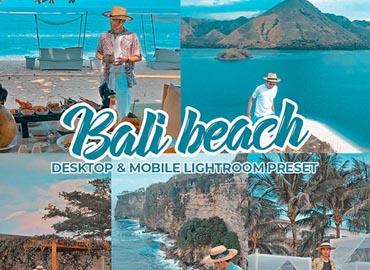 Bali Beach Lightroom Preset Dekstop & Mobile