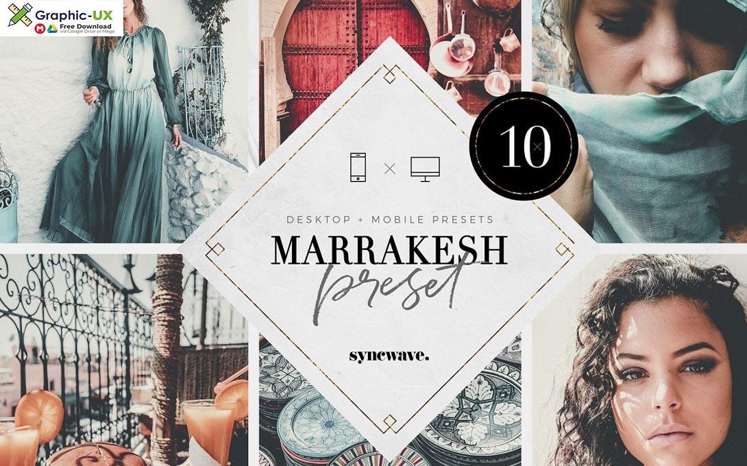 Marrakesh Lightroom Presets Bundle