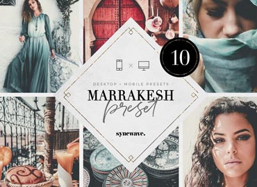 Marrakesh Lightroom Presets Bundle