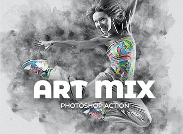 Art Mix Photoshop Action