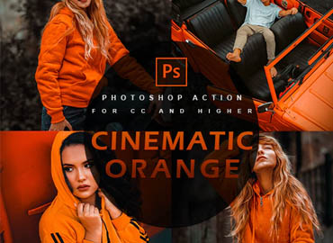 Cinematic orange - Photoshop Action