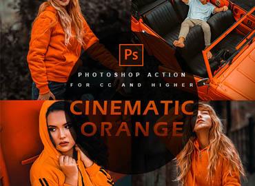 Cinematic orange - Photoshop Action