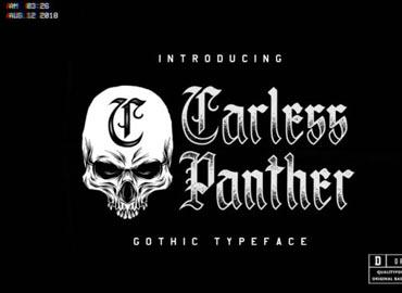 Carless Panther Font