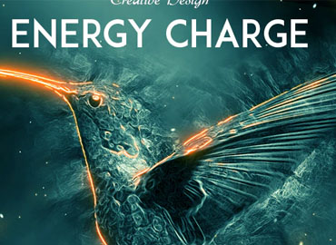 Energy Charge Photoshop Action
