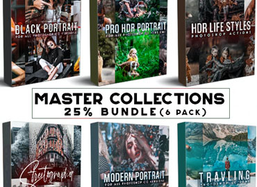 Master Collection Bundle Photoshop Actions