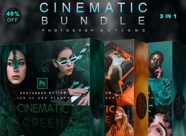 Cinematic Bundle - Photoshop Actions