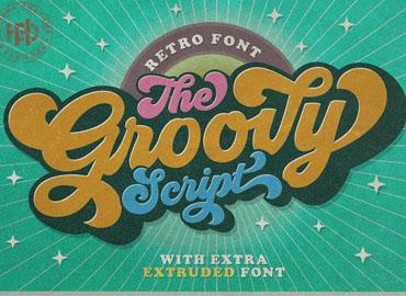 Groovy Free Script Font