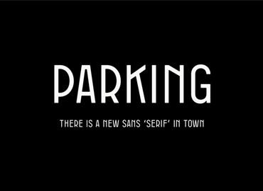 Parking font