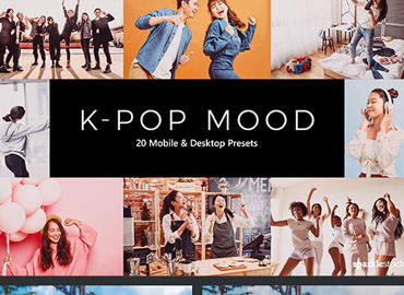 20 K-Pop Mood Lightroom Presets & LUTs
