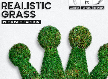 Realistic Grass - Photoshop Actions