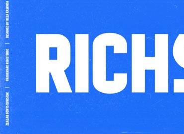 RICHSON Font