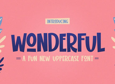 Wonderful Display Font