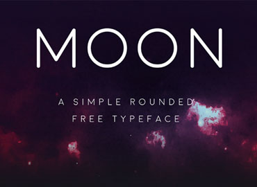 Moon Typeface Font