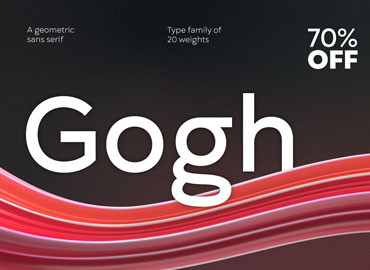 Gogh Font Family