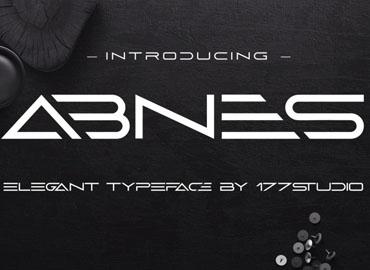 Abnes Elegant Sans Serif Font