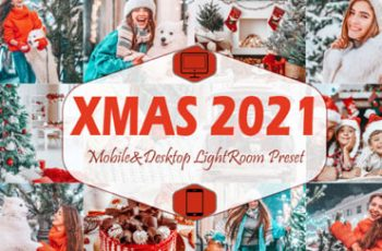 10 Xmas 2021 Mobile Lightroom Presets