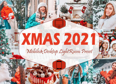 10 Xmas 2021 Mobile Lightroom Presets