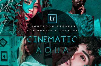 Cinematic Aqua Lightroom Presets