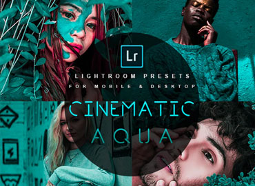 Cinematic Aqua Lightroom Presets