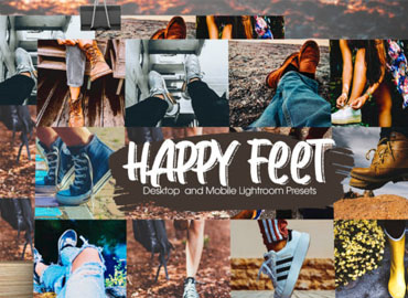 Happy Feet Lightroom Presets
