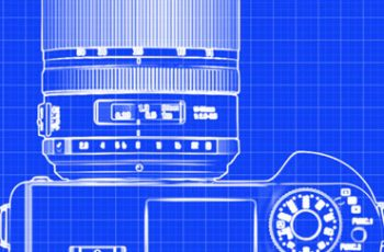 Blueprint Photoshop Action