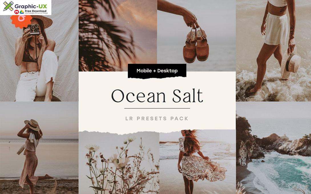 Ocean Salt 6 Lightroom Preset Pack