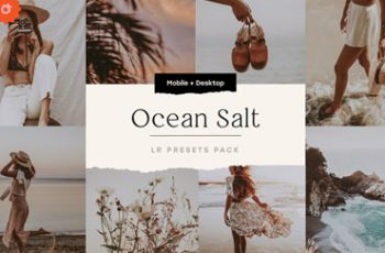 Ocean Salt 6 Lightroom Preset Pack
