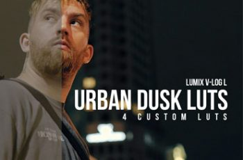 Urban Dusk LUT Pack Lumix V Log L LUTS
