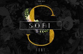 Sofi Font 4 Weights