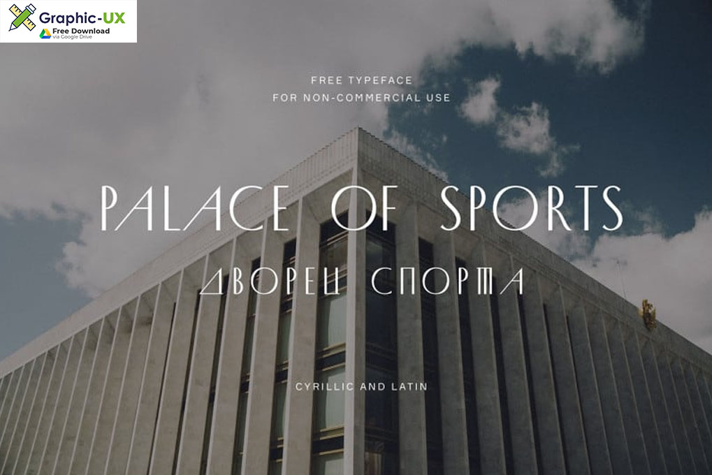 Palace of Sports Display Font