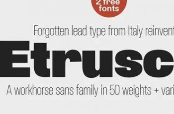 Etrusco Now Sans Serif Font